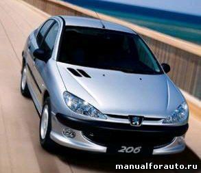 Установка сигнализации Peugeot 206, точки подключения