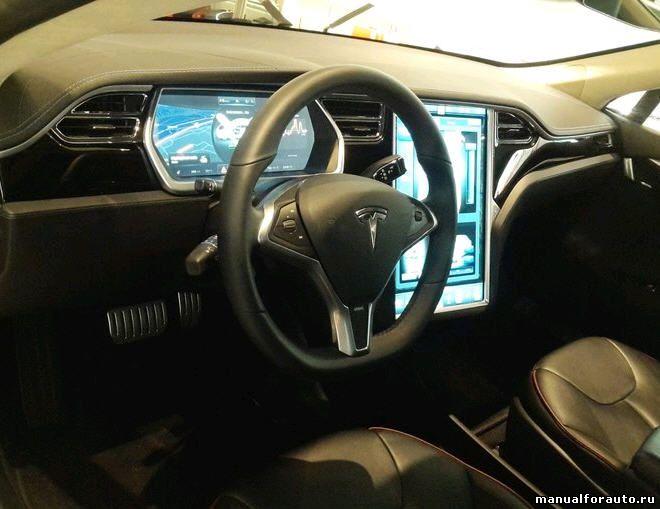 панель Tesla