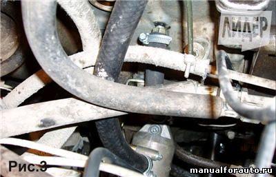 niva severs 3 - Установка предпускового подогревателя двигателя на нива шевроле