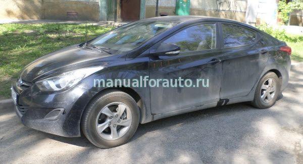 Hyundai Elantra точки подключения
