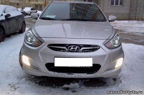Ксенон Hyundai Solaris
