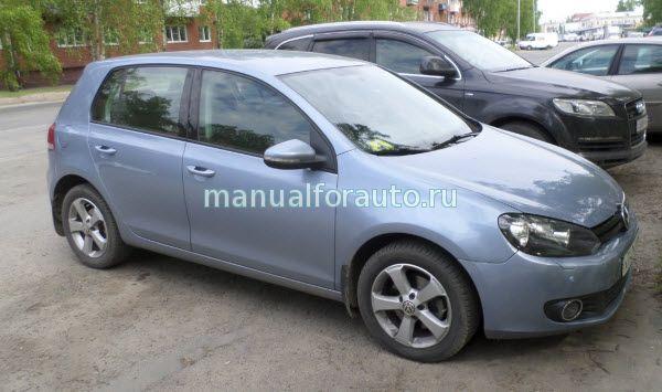 Установка сигнализации Volkswagen Golf 6
