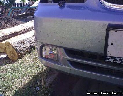 Установка противотуманных фар Chevrolet Lacetti