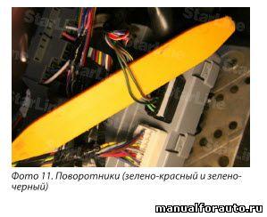 Точки подключения сигнализации мазда 6 2006