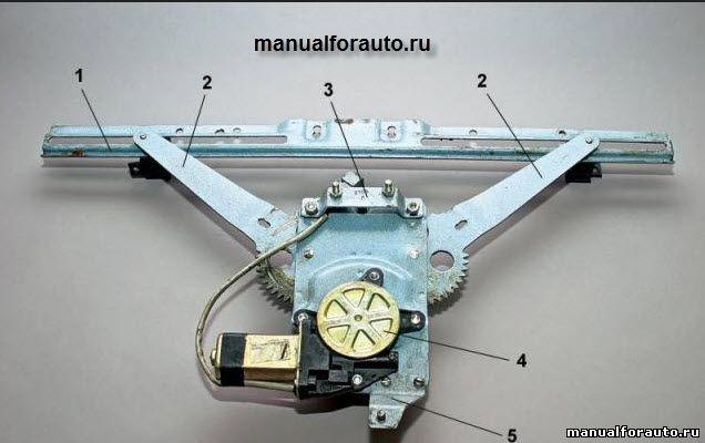 Установка электростеклоподъемника на ВАЗ-2104, 2105, 2107