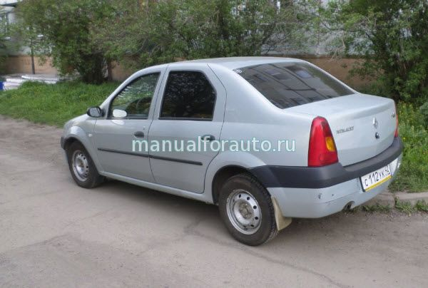 Renault Logan руководство по ремонту