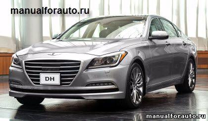 Установка сигнализации на Hyundai Genesis 2014